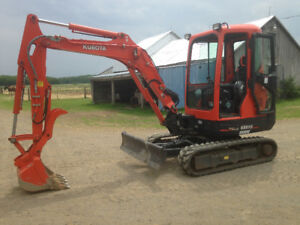 Location mini pelle Kubota kx91-3