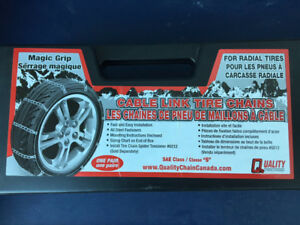 Magic Grip Cable Tire Chains