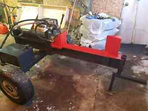 Homemade wood splitter trade for ATV