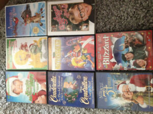 Set of 8 Christmas Movies