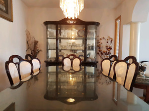 Beautiful Italian Dining Table Set