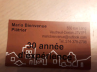 Platrier mario  bienvenue