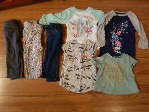 Carter's girls 12 month clothing