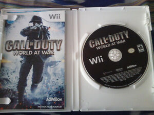 Call of Duty World At War for Wii Stratford Kitchener Area image 2