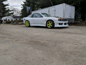 Drift car  LS  swap s13 Dmcc FD légal with trailer