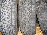 4, 20 INCH PIRELLI SCORPION ATR TIRES FOR SALE OR TRADE