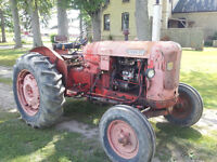 Nuffield Universal Three tractor.