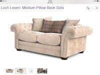 Medium loch leaven sofa DFS