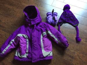 Girls fall/winter jacket size 5