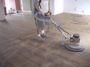 Hiring! Need someone to sand hardwood floors tomorrow