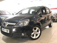 Vauxhall Zafira 1.9CDTI SRI DPF 150PS (black) 2007