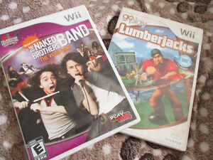2 wii GAMES FOR 1