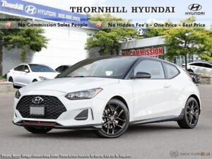 2019 Hyundai Veloster Turbo  - Sunroof -  Heated Seats