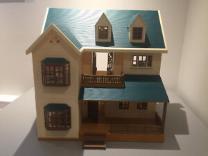 Calico Critters, furnished house