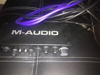M audio audio interface