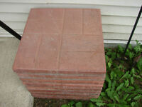 BBQ Base / Fire Pit Base / Patio Stones
