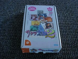 Asian Edition Sakuro Wars 2 Dreamcast GAME is SEALED