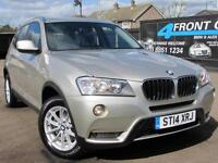 2014 BMW X3 XDRIVE 20D SE AUTOMATIC 4X4 2.0 DIESEL ESTATE DIESEL