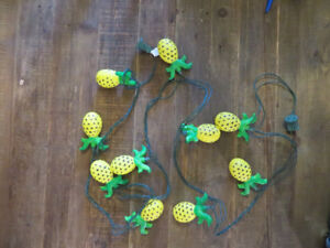 Indoor Plastic Pineapple Patio Lanterns