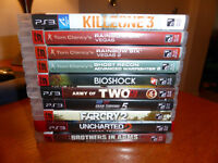 Jeux PS2 & PS3 PlayStation 2 & 3 games