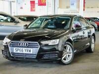 2016 Audi A4 2.0 TDI Ultra 190 Sport 4dr Saloon Diesel Manual