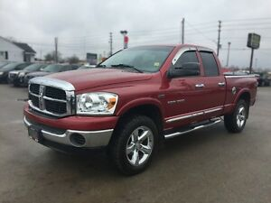 2007 DODGE RAM PICKUP 1500 SLT * 4WD * EXTRA CLEAN INSIDE & OUT London Ontario image 2