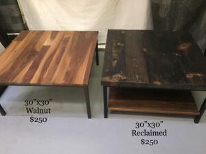 Rustic, reclaimed, live edge furniture SALE!