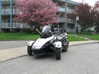 Can-Am Spyder, 2008, 9500$ Seulement 17,000km