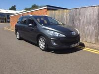 Peugeot 308 SW 1.6 HDi SE 5dr LHD LEFT HAND DRIVE FRENCH REG 2010 80K