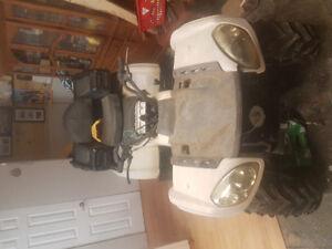 2007 motobishi 500 quad 4x4