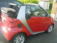 2009 Smart Fortwo ROUGE Cabriolet