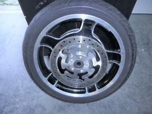 harley front wheel touring