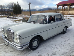 Looking for 1960's Mercedes parts or parts vehicle for project.