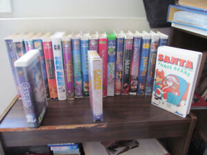 For Sale Childrens VHS movies excellent condition .75 cents each