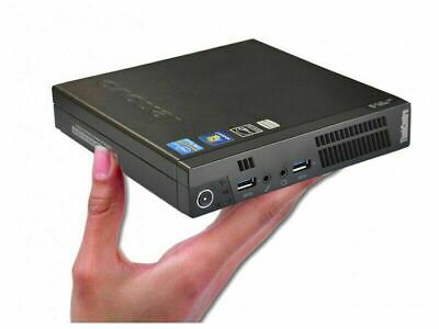 Lenovo ThinkCentre M93p Tiny Mini PC i5-4570T 3.6GHz 4/8/16GB RAM 128/240GB SSD
