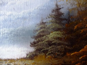 """Original Oil Painting by Phillip Cantrell """"Slow River Afternoon"""" Stratford Kitchener Area image 10"""