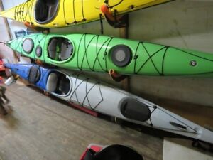 17.2'  Perception Eclipse touring kayak, with rudder