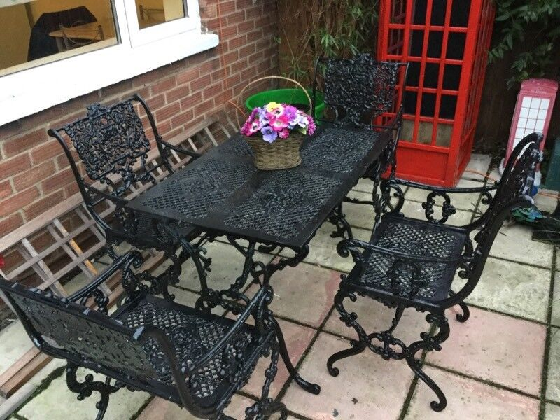 garden table and chairs unique used - Garden Furniture Kings Lynn