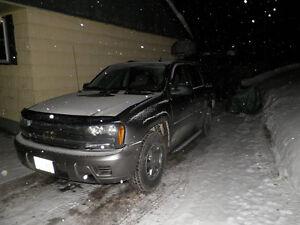2005 Chevrolet Trailblazer black SUV, Crossover