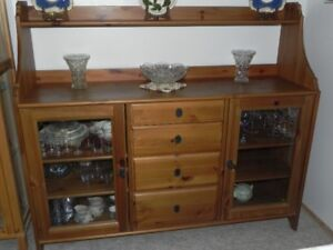 buffet, solid pine.