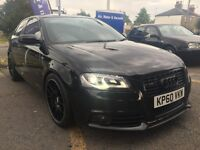 Audi A3 S Line Black Edition, F/S/H, 6M MOT, Low Mileage, Bluetooth/SatNav/DVD player, 12M Tax
