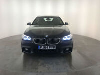 2015 BMW 520D M SPORT AUTOMATIC DIESEL 188BHP 1 OWNER SERVICE HISTORY FINANCE PX