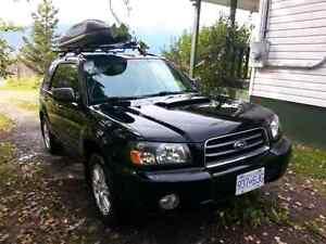 2005 Subaru Forester XT  Turbo SUV, Crossover