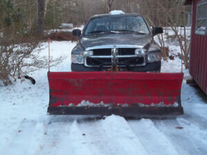2005 Dodge ram with plow-yard truck/not inspected