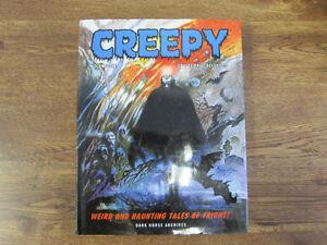 CREEPY HARDCOVER VOLUME 1 DARK HORSE HORROR COMICS REPRINT