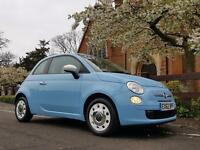 Fiat 500 1.2I COLOUR THERAPY S/S / JUST 3% FLAT RATE FINANCE / 30 POUNDS ROAD T