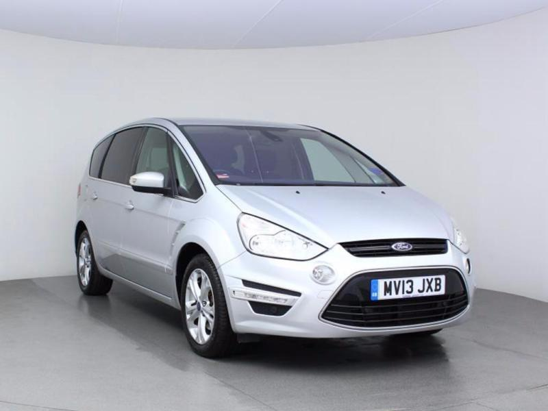 2013 FORD S MAX 2.0 TDCi 140 Titanium MPV 7 Seats GBP970 Of Extras 1 Owner