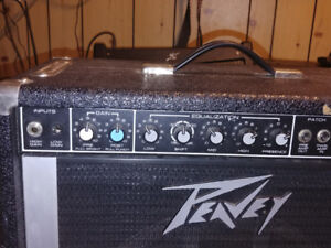 Peavey guitar amp tko 65  200w sounds awesome!!