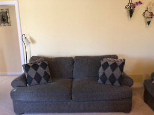 4- Piece Grey Sklar Peppler Sofa Set- Price Negotiable