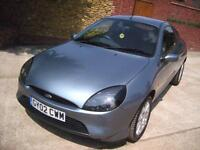 Ford Puma 1.7 2002 Full Ford Service History To 2014 Independent Thereafter